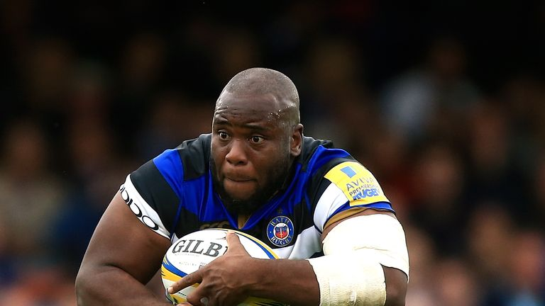 Bath prop Beno Obano suffered a serious knee injury while on England duty