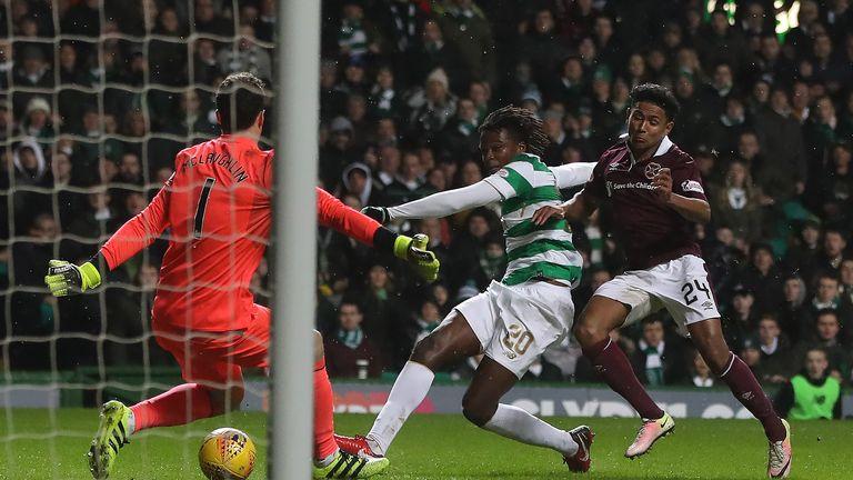 Dedryck Boyata scored Celtic's second at Parkhead