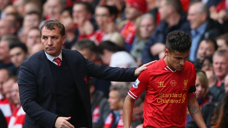 Brendan Rodgers steered Liverpool to second in 2013-14, but was sacked one year later