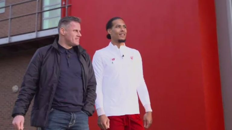 Van Dijk and Liverpool take on leaders Man City on Super Sunday