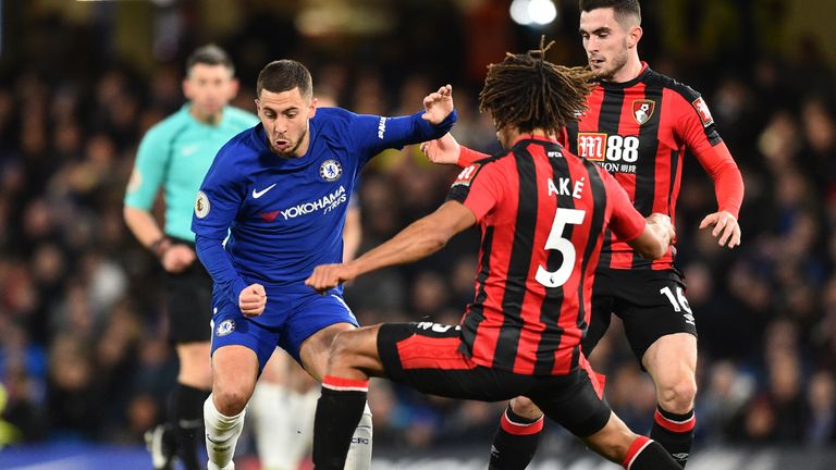 Chelsea host Bournemouth on Saturday - but Ake is out with a hamstring injury