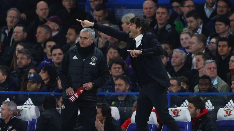 Antonio Conte calls Manchester United boss Jose Mourinho a ...