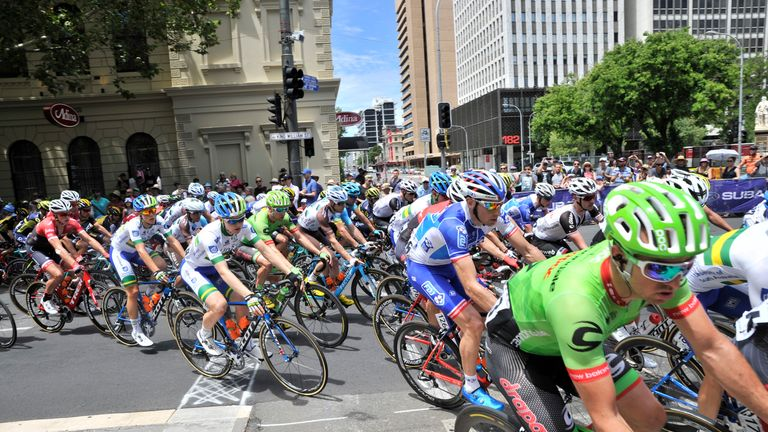 Team Sky will be part of the peloton for the 2018 Tour Down Under, which takes place in and around Adelaide in South Australia