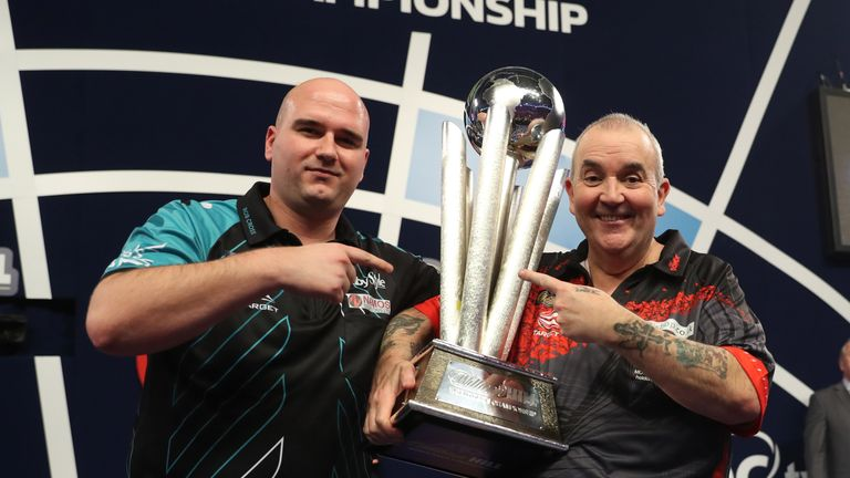 Cross defeated Phil Taylor 7-2 to seal world title glory on his debut in 2018