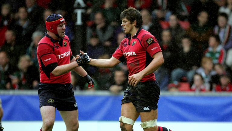O'Callaghan and Foley shared a changing room for a decade at Munster