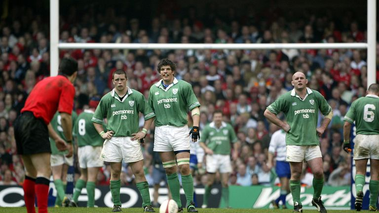 O'Callaghan fulfils a dream against Wales in Cardiff in 2003