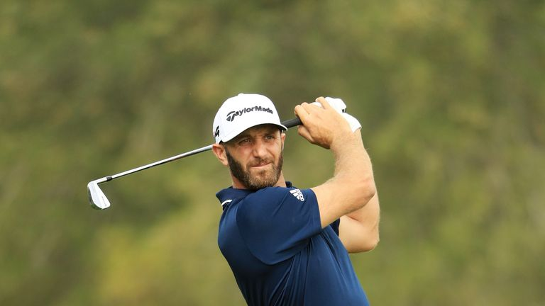 Dustin Johnson felt he had a 'solid' week