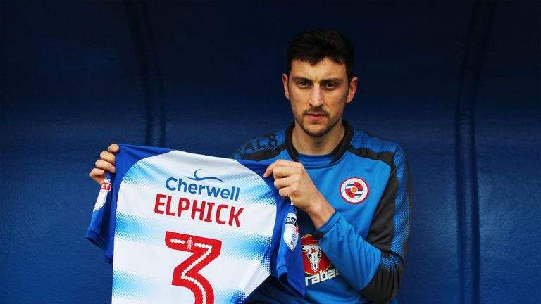 Tommy Elphick has joined Reading on loan until the end of the season