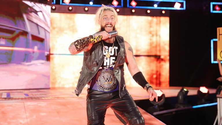 Enzo Amore had recently been the main star on WWE's cruiserweight programme 205 Live