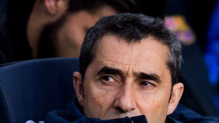 Ernesto Valverde's side are comfortably clear at the top of La Liga