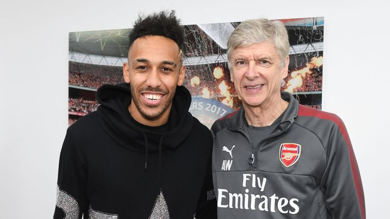 Pierre-Emerick Aubameyang was not your typical 'Arsene Wenger signing', according to John Cross