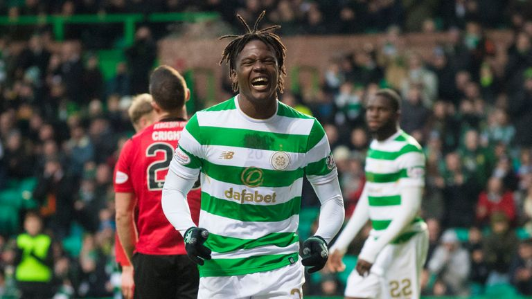 Celtic's Dedryck Boyata is ready for a physical test against Motherwell