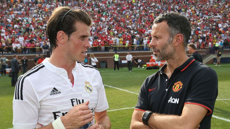 Ryan Giggs (right) will pass his experience onto Gareth Bale