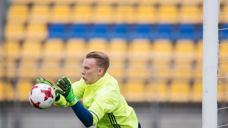 Dahlberg progressed through Sweden's international youth teams