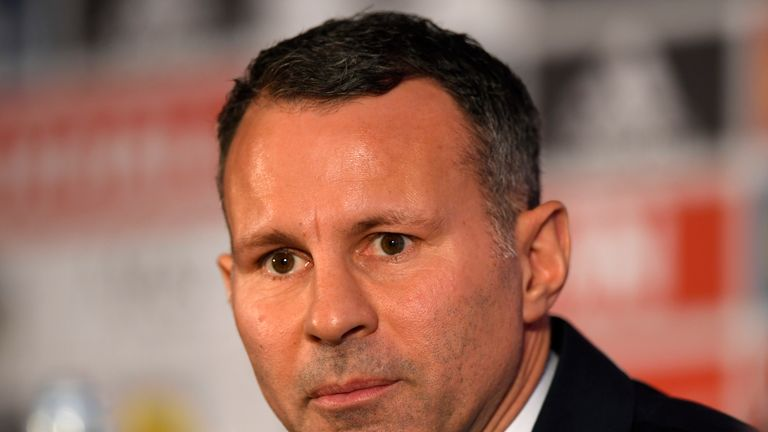 Ryan Giggs says he is nervous ahead of his bow as Wales manager