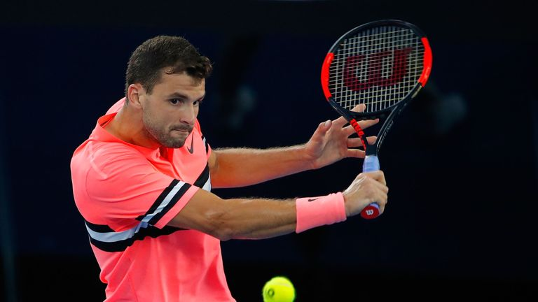 Grigor Dimitrov has beaten Edmund in their two previous meetings
