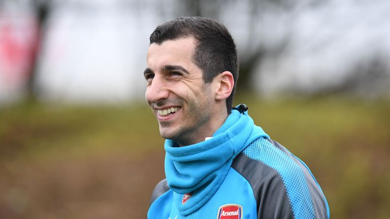 Henrikh Mkhitaryan may make his first Arsenal start on Saturday