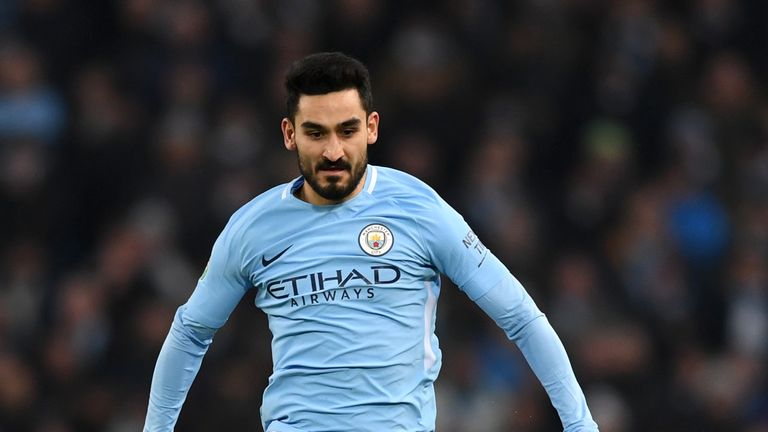 Ilkay Gundogan scored in Manchester City's 4-3 defeat to Liverpool