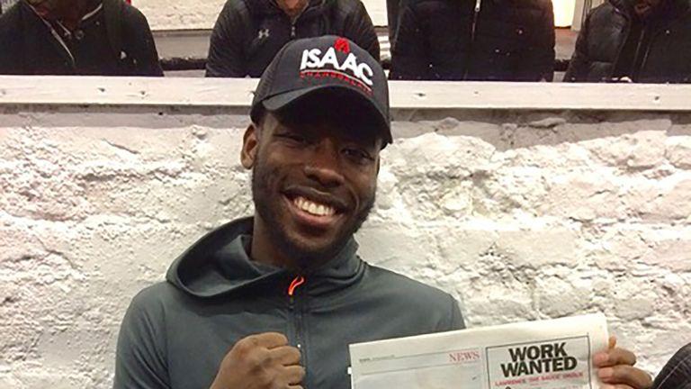 Isaac Chamberlain faces Lawrence Okolie on February 3, live on Sky Sports
