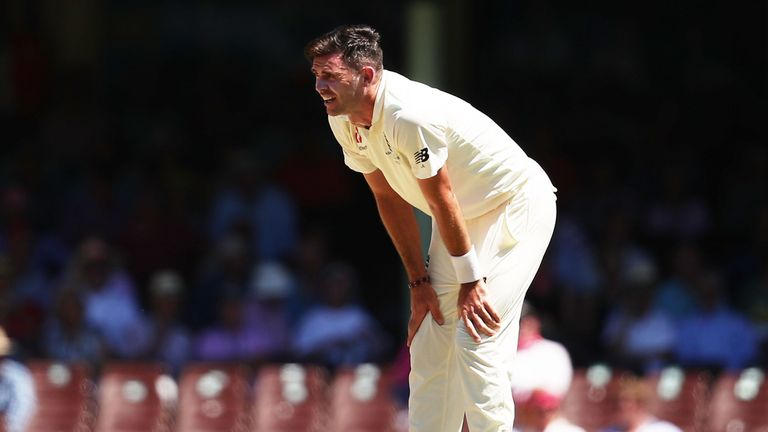 The England bowlers were made to toil in scorching conditions in New South Wales