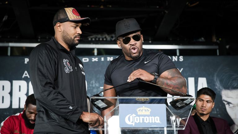Jarrell Miller wants the winner of Anthony Joshua vs Joseph Parker