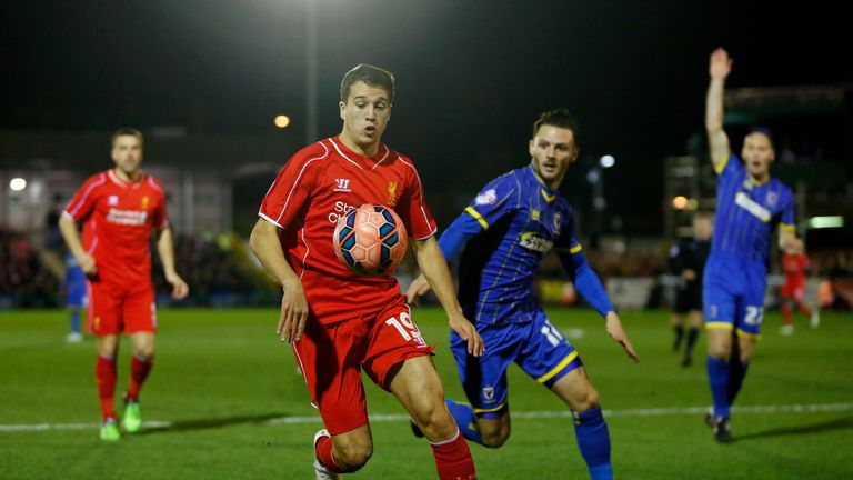Javier Manquillo made 10 Premier League appearances for Liverpool