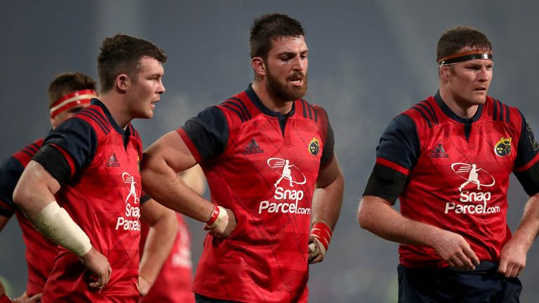 Kleyn is likely to face former second row partner Donnacha Ryan on Sunday