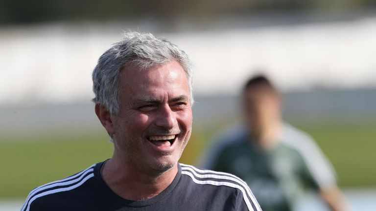 Jose Mourinho has plenty of players to choose from at Wembley