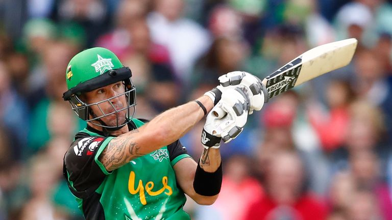 Kevin Pietersen in action for the Melbourne Stars in the Big Bash League