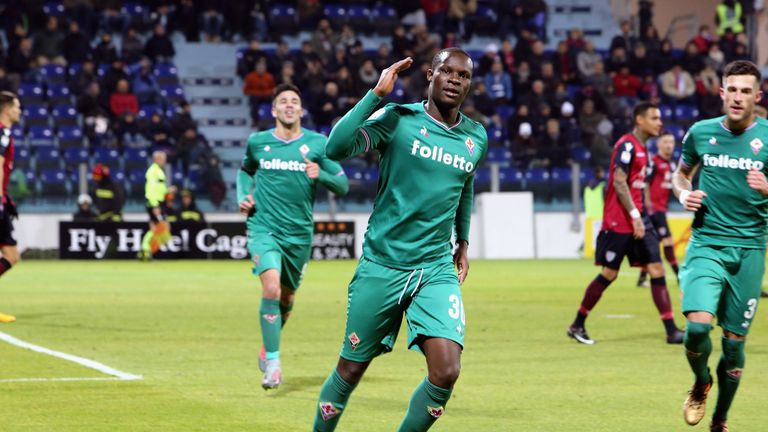 Khouma Babacar has been the subject of a bid from Crystal Palace, according to Sky in Italy