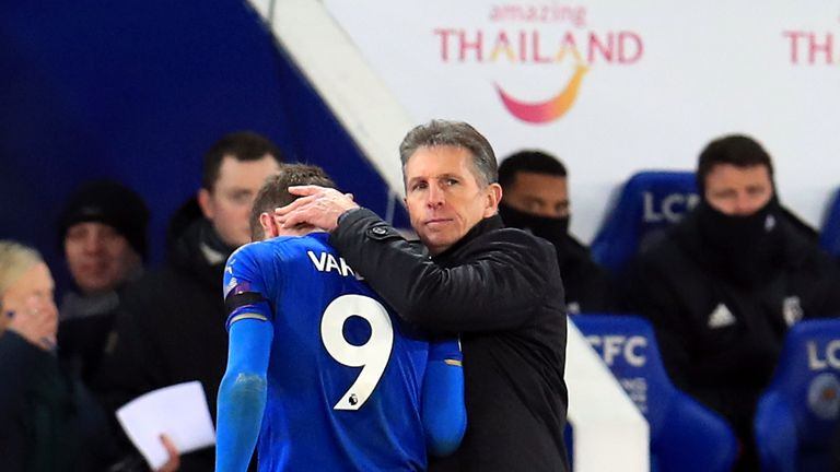 Jamie Vardy admits Claude Puel's style of football does not suit him