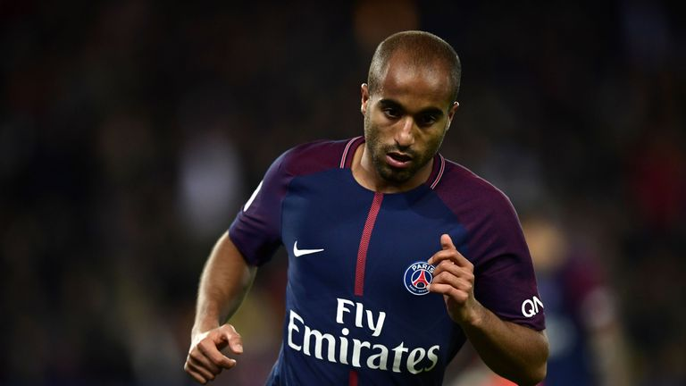 Lucas Moura is of interest to Manchester United but no offer has been made yet