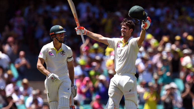 Mitchell Marsh has two centuries since coming into the Australia XI for the third Test