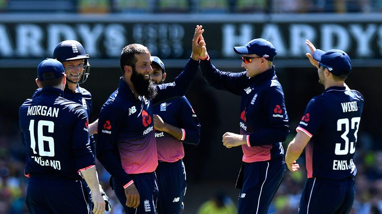 Moeen Ali provided great control and took the wicket of David Warner