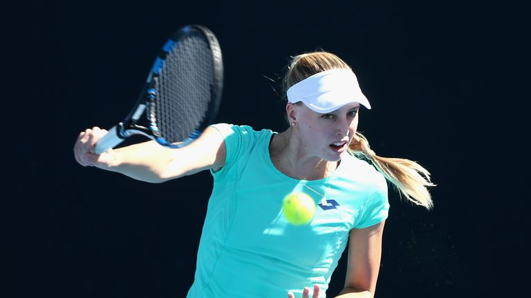 Naomi Broady failed to make the main draw in Melbourne