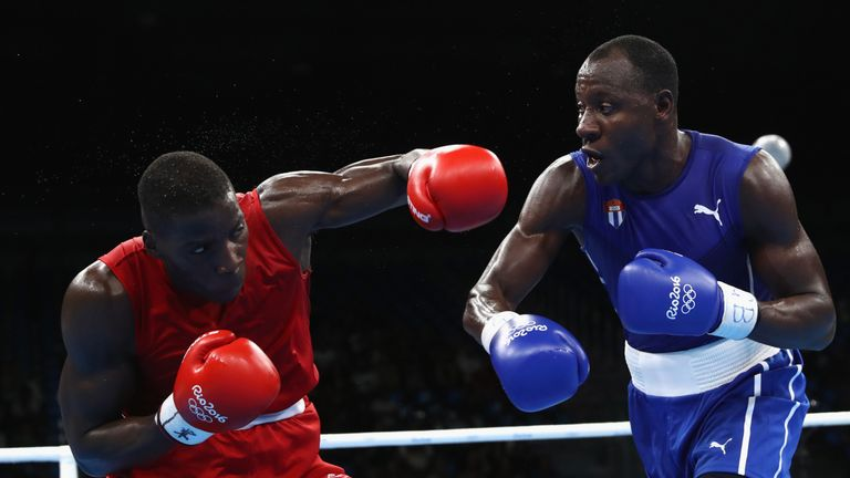 Lawrence Okolie was expected to lose to Erislandy Savon at Rio 2016