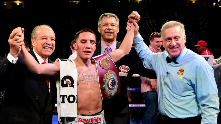 The unbeaten Oscar Valdez is one of the rising stars of Mexican boxing