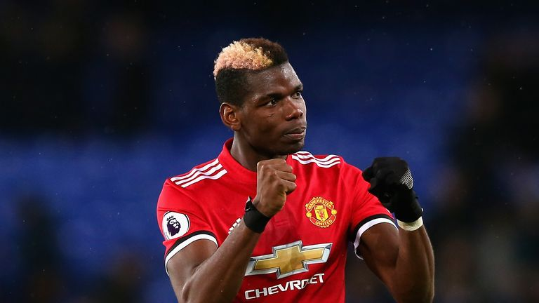 Paul Pogba also has a huge following in China