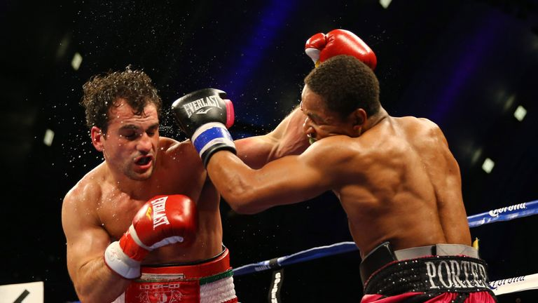 Phil Lo Greco has been in with some impressive names, like Shawn Porter
