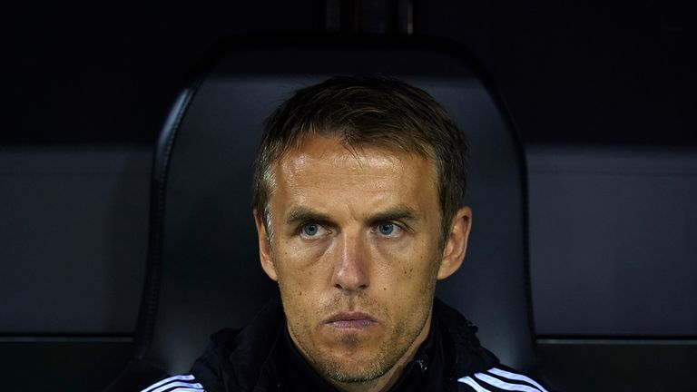 Neville's first game as England boss is against France in Columbus on March 1
