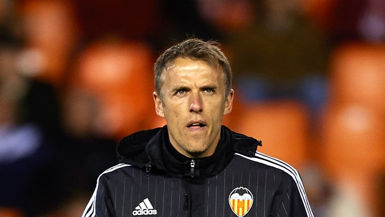 Phil Neville has apologised for historical tweets