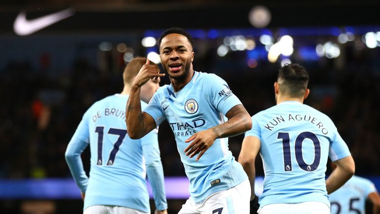 Neville insists it was a tight call between Raheem Sterling and Leroy Sane for the left-wing position