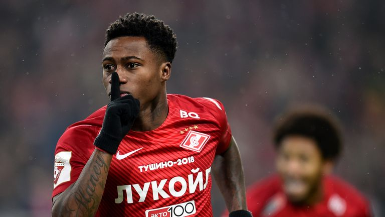 Southampton are hoping to sign Quincy Promes from Spartak Moscow before the end of the transfer window