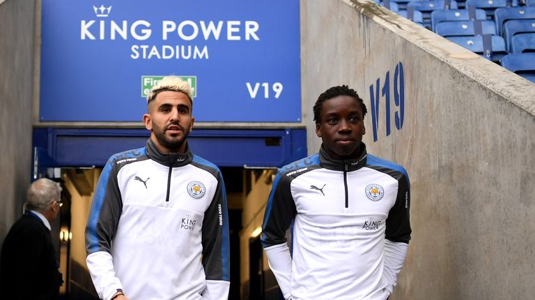 Fousseni Diabate could make his Leicester debut against Peterborough on Saturday