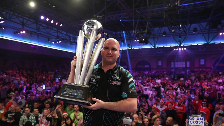 Rob Cross begins his first tournament as World Champion against Ian White