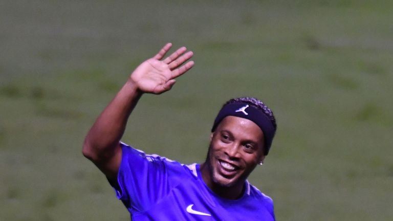 Ronaldinho is hanging up his boots at the age of 37