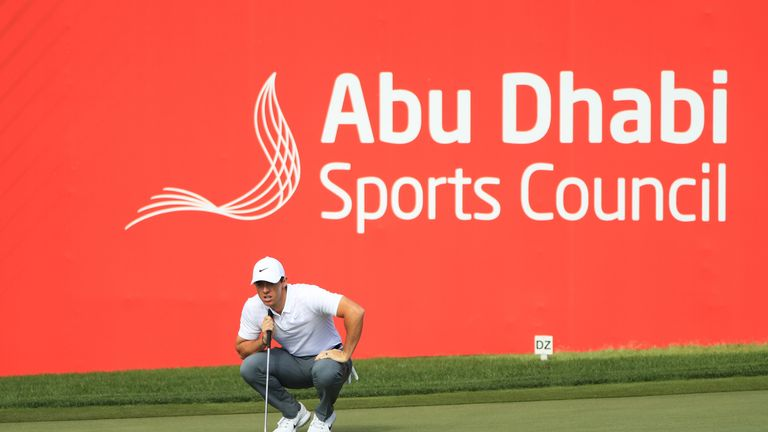 Rory McIlroy fired a bogey-free 69 in his first round since October