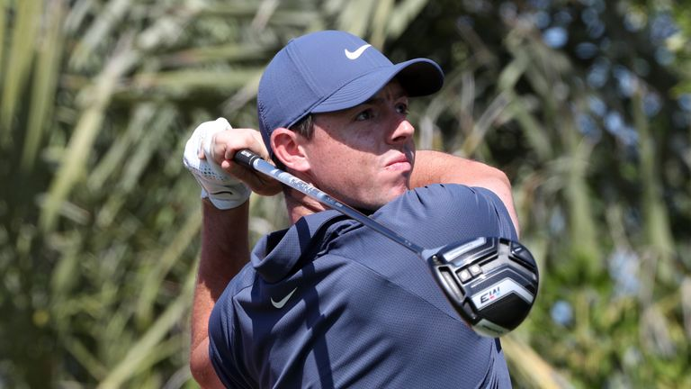 Rory McIlroy is in the third-last group