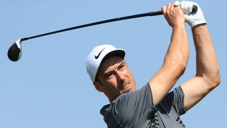 Ross Fisher shares the lead with Thomas Pieters