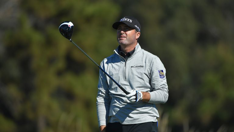 Ryan Palmer holds a one-shot lead at the halfway stage